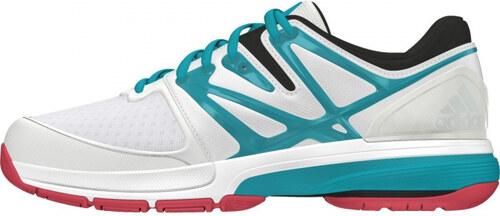 Dámské sálové boty adidas Performance Stabil4ever W (Bílá   Zelená   Černá) bcf9b0d3440