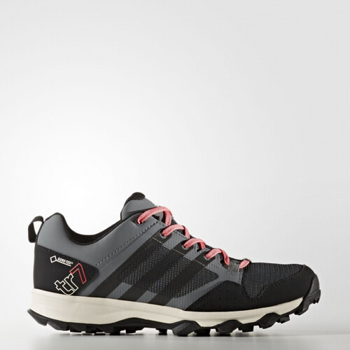 Dámské outdoorové boty adidas Performance KANADIA 7 TR GTX W (Černá    Růžová) efd314e506