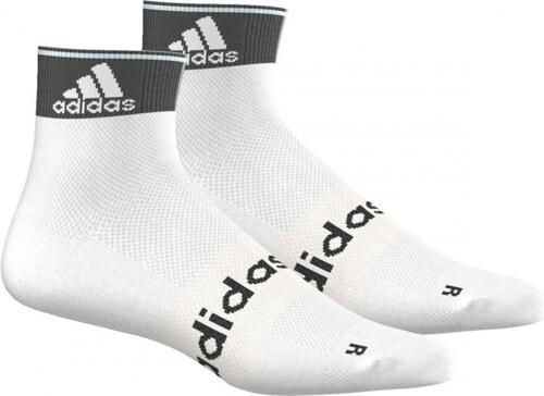 Ponožky adidas Performance R L ANKLE T 2P (Bílá   Černá) - Glami.cz b6e11dd82a