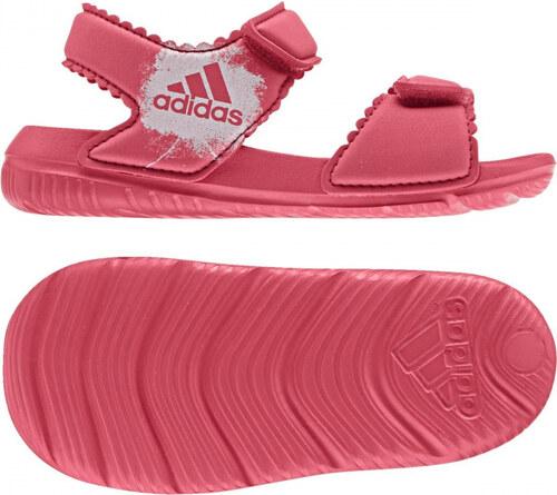 cc5858c49afe -30% Dievčenské sandále adidas Performance AltaSwim g I (Ružová   Biela)