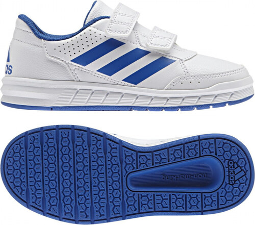 -40% Detské tenisky adidas Performance AltaSport CF K (Biela   Modrá) 42593b0621