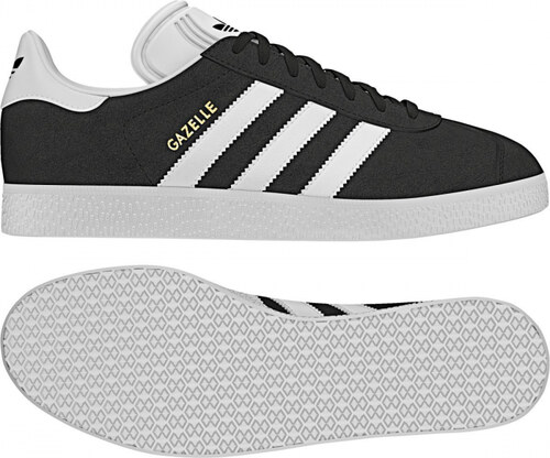 Pánské tenisky adidas Originals GAZELLE (Černá   Bílá   Zlatá ... fbf3d6653f