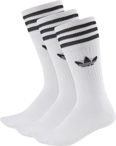 Ponožky adidas Originals SOLID CREW SOCK (Bílá   Černá) - Glami.cz d4b277ee9e