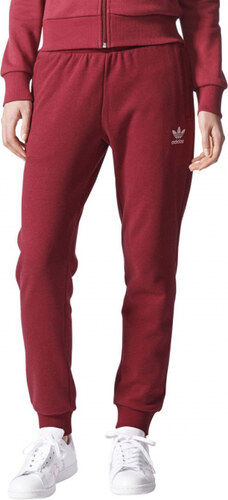 Dámské tepláky adidas Originals REG CUFF TP (Tmavě červená ...