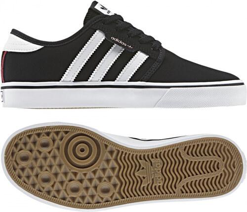 -50% Dětské tenisky adidas Originals SEELEY J (Černá   Bílá   Červená) ab31f276ab