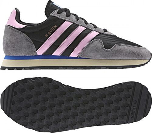 430fb2b13c -20% Dámske tenisky adidas Originals HAVEN W (Čierna   Ružová   Šedá)