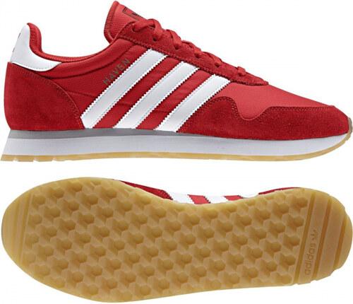 44b466e1996 Pánske tenisky adidas Originals HAVEN (Červená   Biela) - Glami.sk