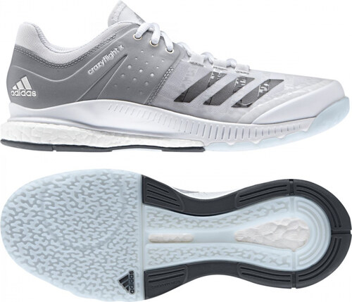 Dámské sálové boty adidas Performance crazyflight X W (Bílá   Šedá ... 70a01143ec