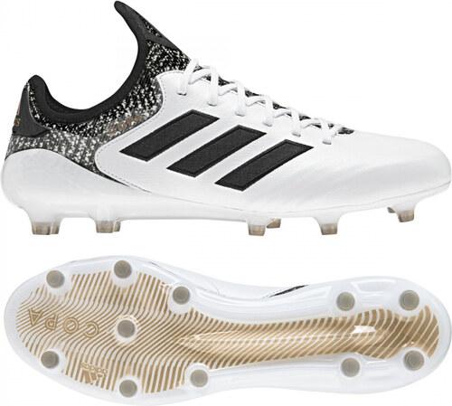 Pánské kopačky lisovky adidas Performance COPA 18.1 FG (Bílá   Černá    Zlatá) 9f5e6713c4