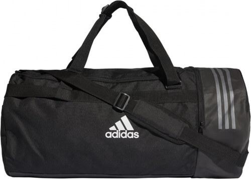 dcbbbfb507 Taška adidas Performance 3S CVRT DUF L (Čierna   Biela) - Glami.sk