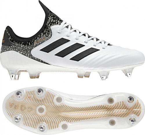 Pánské kopačky kolíky adidas Performance COPA 18.1 SG (Bílá   Černá   Zlatá) d322853c3e