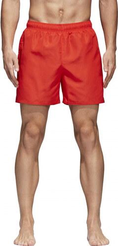 Pánske plavky adidas Performance SOLID SH SL (Červená) - Glami.sk e81283018f