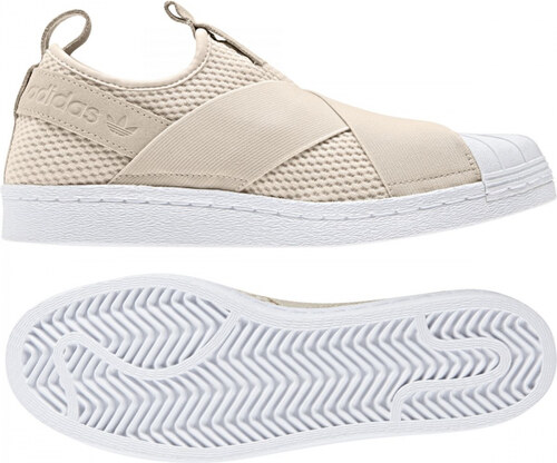 Dámske tenisky adidas Originals SUPERSTAR SLIPON W (Biela) - Glami.sk ac9bb3841e7