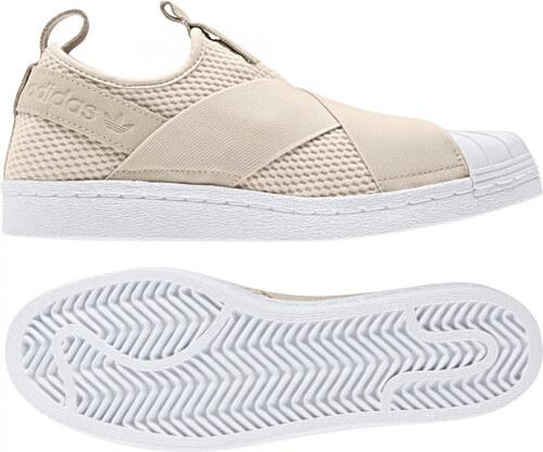 ceb8874f5bd42 Dámské tenisky adidas Originals SUPERSTAR SLIPON W (Bílá) - Glami.cz