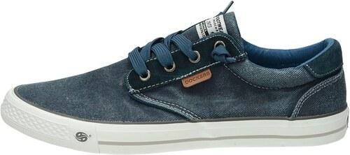 Dockers pánske textilné tenisky - modré - Glami.sk 808bf79431a