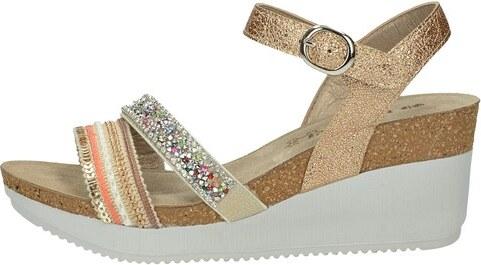72d2be2060ef Inblu dámske elegantné sandále s ozdobnými prvkami - zlaté - Glami.sk