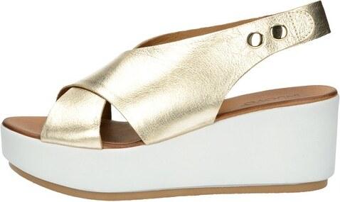 4ef1739d8721 Inuovo dámske elegantné sandále - zlaté - Glami.sk