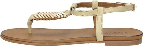 9821ee23d5212 Inuovo dámske luxusné sandále - béžové - Glami.sk