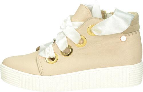 50fce83fb649 Olivia shoes dámske štýlové tenisky na platforme - béžové - Glami.sk