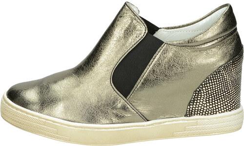 Olivia shoes dámske tenisky - zlaté - Glami.sk d2f7a3f508f
