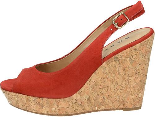 dbfd6c54b956 Robel dámske sandále s remienkom - červené - Glami.sk