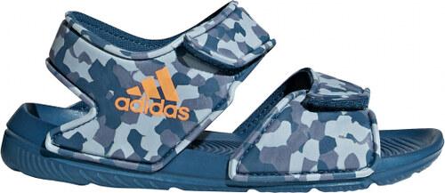 55343c893604 Nové Detské sandále adidas Performance AltaSwim C (Modrá   Oranžová    Svetlo modrá)