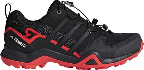 Pánské outdoorové boty adidas Performance TERREX SWIFT R2 GTX (Černá    Červená) 2bda0bd868