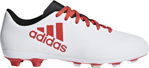 Chlapecké kopačky lisovky adidas Performance X 17.4 FxG J (Šedá   Červená    Čierna) 79bb7ffbabf