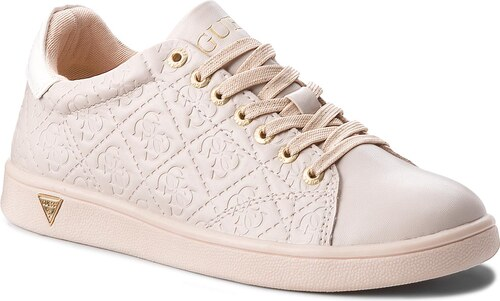 aa02b663d Sneakersy GUESS - FLUPE3 ELE12 NUDE - Glami.cz