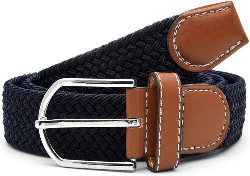 4f565f692 Collin Rowe Modro-čierny elastický opasok Navy - Glami.sk