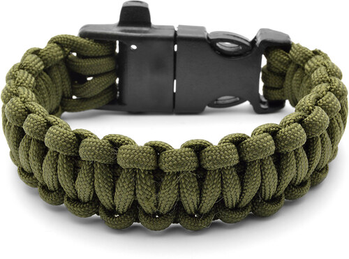 Tailor Toki Zelený Paracord náramok s kresadlom - Glami.sk ff154926206