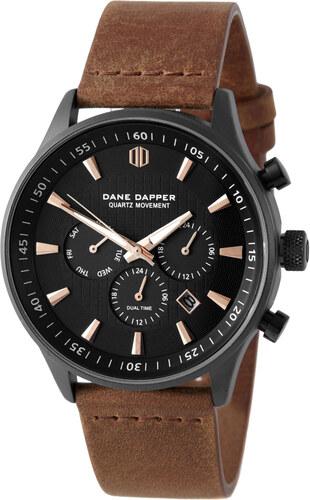 Dane Dapper Hodinky Brown   Black Troika - Glami.sk 79a869646b2