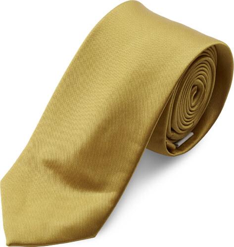 76a3c5edad TND Basics Fényes aranyszínű nyakkendő - 6 cm - Glami.hu