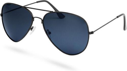 Paul Riley Aviator čierne dymové polarizačné slnečné okuliare - Glami.sk 260681b8715