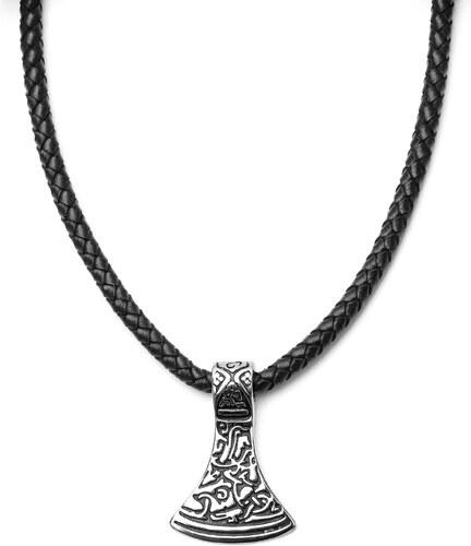 Fort Tempus Čierny kožený náhrdelník s magickým motívom - Glami.sk 8a707533967
