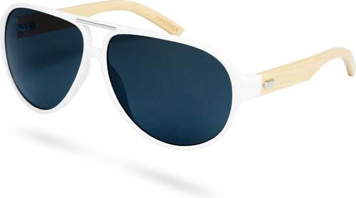 Paul Riley Biele slnečné okuliare Bambus - Glami.sk e4f3698489a