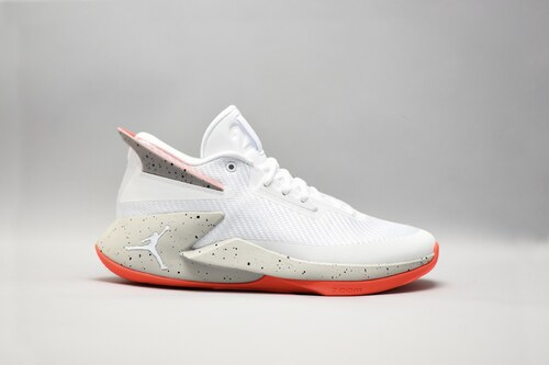 Pánské Basketbalové boty Jordan FLY LOCKDOWN WHITE BLACK-TECH GREY-INFRARED eee77157df9