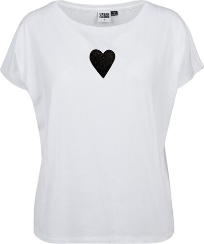 c5558c09490 Dámske biele tričko s motívom Spolu od Lény Brauner   IM Cyber pre KlokArt