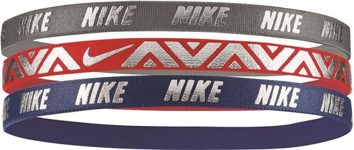 72969318ec7 Čelenka Nike METALLIC HAIRBANDS 3 PACK NJNG8088OS-088 - Glami.sk