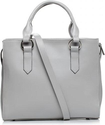 cb738c55c840 StyleBags Dámska elegantná sivá kabelka SB404 - Glami.sk