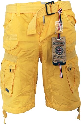 GEOGRAPHICAL NORWAY kalhoty pánské PANORAMIQUE MEN COLOR 063 bermudy kapsáče ecc83ed9be