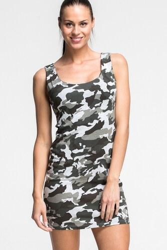 21e7e541644 SHOPHYL Maskáčové Dámské šaty Army Dress