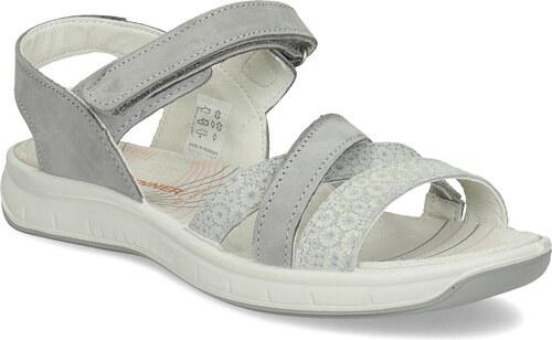 Weinbrenner Kožené sandály v Outdoor stylu šedé - Glami.cz e592a7dd8c