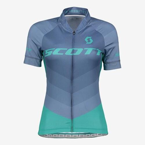 797ef5132 Scott Cyklistický Dámský dres W's RC Pro s/sl - modrá - Glami.cz