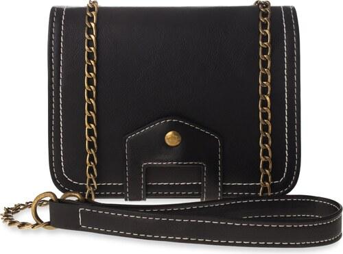 6f0d8d4d52e6 World-Style.cz Klasická retro dámská kabelka listonoška vintage - černá