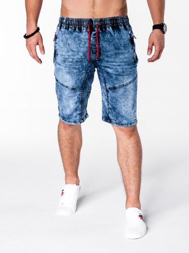 Kraťasy pánské Ombre W045 jeans - Glami.cz 5c09393ef7