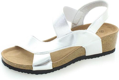 01671c4dce86 Ideal Strieborné sandále Amara - Glami.sk