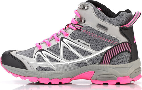ALPINE PRO LORET Uni outdoorová obuv UBTL152771 světle šedá 37 ... 624d218aa93
