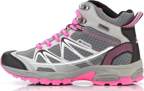 f813464f84 ALPINE PRO LORET Uni outdoorová obuv UBTL152771 svetlo šedá 37 ...