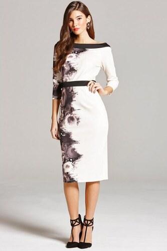 1a1180234c02 LITTLE MISTRESS Luxusné šaty s bočnou potlačou - Glami.sk